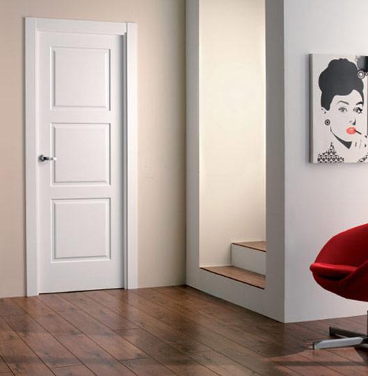 Puertas Benalmadena, puertas de interior, puertas blancas