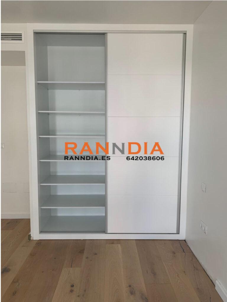 armarios blancos empotrados benalmadena