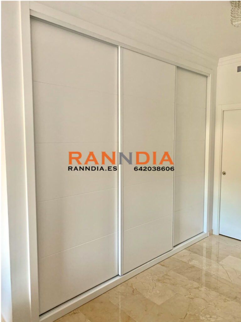 armarios lacados en blanco benalmadena